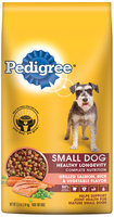 Pedigree® Complete Nutrition Small Dog Healthy Longevity Grilled Salmon, Rice & Vegetable Flavor Dog Food 3.5 lb. Bag