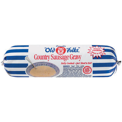 Purnell's Old Folks Country Sausage  Gravy 24 Oz Chub