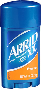 Arrid® XX® Extra Extra Dry® Regular Solid Antiperspirant Deodorant