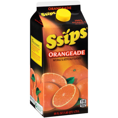 Ssips® Orangeade Flavored Drink