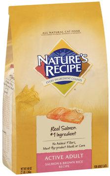 Nature's Recipe® Active Adult Salmon & Brown Rice Recipe Cat Food 3 lb. Bag