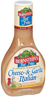 Bernstein's Cheese & Garlic Italian Fat Free Dressing 14 Oz Plastic Bottle