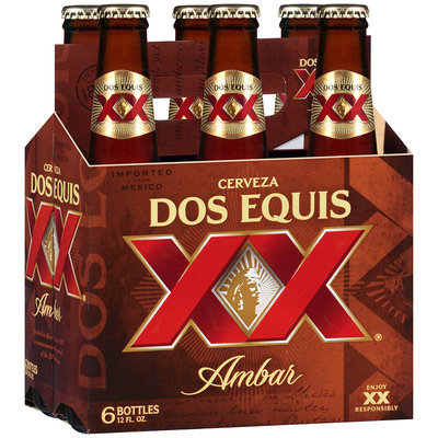 Dos Equis® Ambar 6-12 fl. oz. Bottle