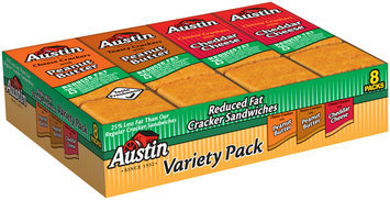 Austin® Reduced Fat Variety Pack™ Cracker Sandwiches 8 ct Tray