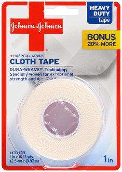 Johnson & Johnson® Hospital Grade Heavy Duty Cloth Tape 1 in x 12 yds