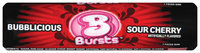 Bubblicious Rolls Bubblicious Bursts Sour Cherry Bubble Gum