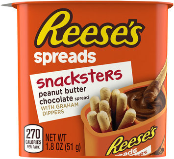 Reese's Spreads Snacksters Peanut Butter Chocolate with Graham Dippers