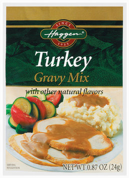 Haggen Turkey Gravy Mix .087 Oz Packet