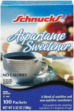 Schnucks Aspartame Sweetener