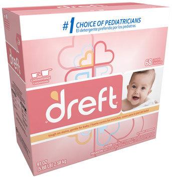 Dreft® Baby Original Scent Powder Laundry Detergent 91 oz. Box