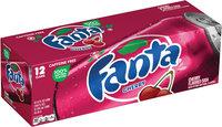 Fanta® Cherry Soda 12-12 fl. oz. Cans