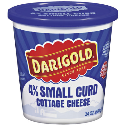 Darigold 4% Small Curd Cottage Cheese 24 Oz Plastic Tub