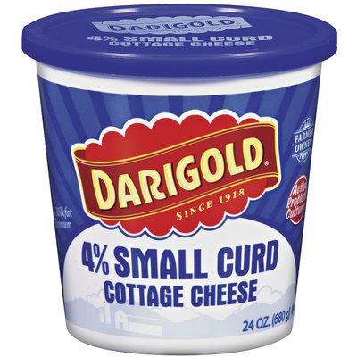 Darigold 4% Small Curd Cottage Cheese 24 Oz Plastic Tub