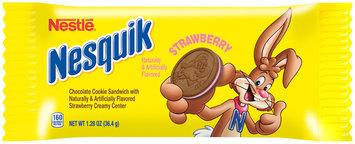 Nestlé® Nesquik Strawberry Cookie Sandwich 1.28 oz. Wrapper