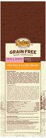 Nutro™ Natural Choice™ Grain Free Chicken & Lentils Recipe Small Breed Dog Food 4 lb. Bag