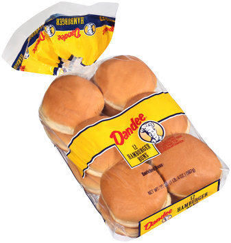 Dandee® Hamburger Buns 12 ct Bag