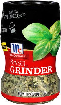 McCormick® Basil Grinder 0.22 oz. Bottle