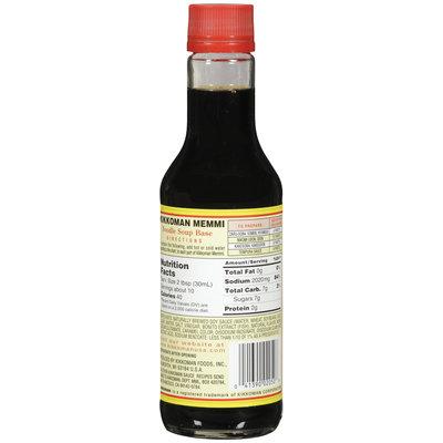 KIKKOMAN Memmi Noodle Soup Base Soy Sauce 10 FL OZ GLASS BOTTLE