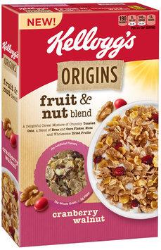 Kellogg's Origins™ Fruit & Nut Blend Cranberry Walnut Cereal 12.9 oz. Box