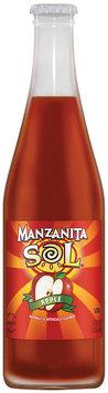 Manzanita Sol® Apple Soda 12 fl. oz. Glass Bottle