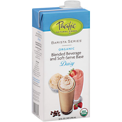 Pacific® Barista Series Organic Dairy Blended Beverage & Soft-Serve Base