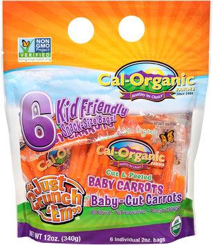 Cal-Organic® Farms Organic Baby-Cut Carrots 6-2 oz. Bags