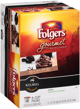 Folgers Gourmet Selections® Mocha Swirl Coffee K-Cup® Packs 12 ct Box