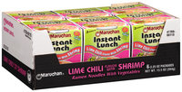 Maruchan® Instant Lunch™ Lime Chili Flavor with Shrimp Ramen Noodles with Vegetables 6-2.25 oz. Cups