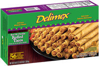 Delimex® Beef & Cheddar Rolled Tacos 56 ct Box