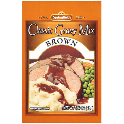 Springfield® Classic Brown Gravy Mix 0.75 oz. Packet