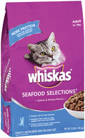 Whiskas® Seafood Selections® Adult 1+ Yrs. 3 lb.
