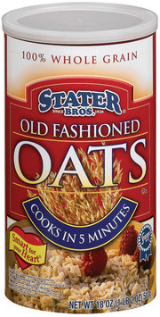 Stater Bros. Old Fashioned Oats 18 Oz Cylinder