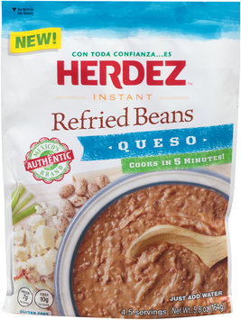 Herdez™ Instant Queso Refried Beans 5.8 oz. Pouch
