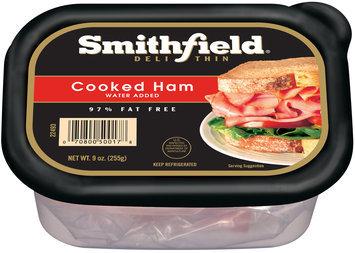 Smithfield® Deli Thin Cooked Ham 9 oz. Tub
