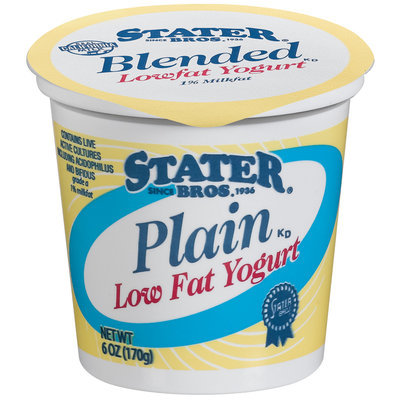 Stater Bros. Plain Lowfat Yogurt