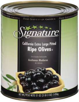 Signature™ California Pitted Ripe Olives