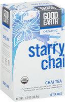 Good Earth® Organic Starry Chai™ Chai Tea 18 ct Box