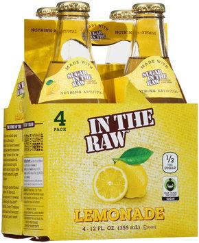 In The Raw™ Lemonade 4-12 fl. oz. Bottles