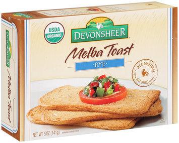 Devonsheer® Melba Toast Rye 5 oz. Box