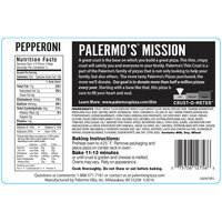 Palermo's® Thin Crust Pepperoni Pizza 15.4 oz. Pack