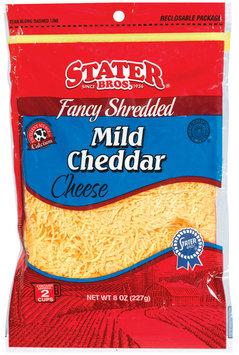 Stater Bros. Mild Cheddar Fancy Shredded Cheese 8 Oz Peg