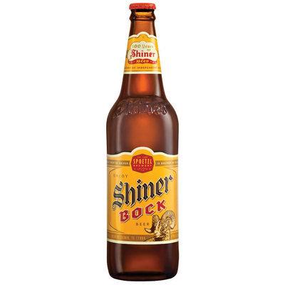Shiner Bock Beer 24 Oz Glass Bottle