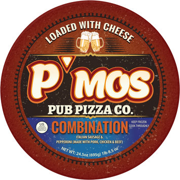 P'mos™ Pub Pizza Co. Combination Pizza 24.5 oz.