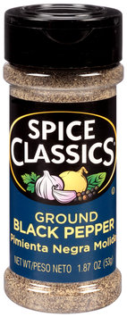 Spice Classics® Ground Black Pepper 1.87 oz. Shaker