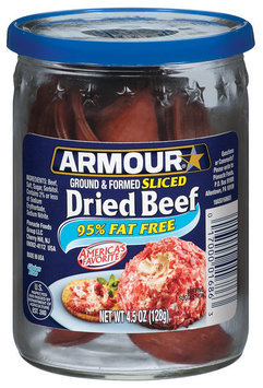 Armour Sliced Beef Dried 4.5 Oz Jar