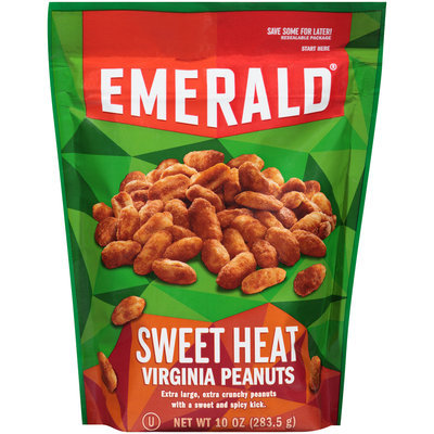 Emerald® Sweet Heat Virginia Peanuts 10 oz. Stand-Up Bag