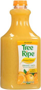 Tree Ripe® Premium Natural Orange Juice No Pulp 59 fl. oz. Bottle