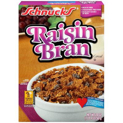 Schnucks® Raisin Bran Cereal 20 oz. Box