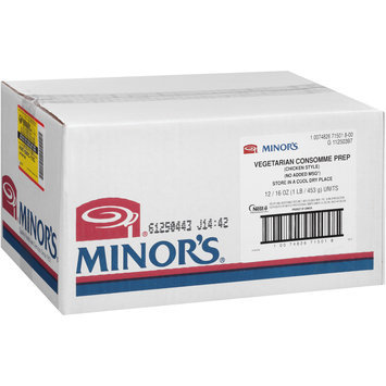 Minor's Vegetarian Chicken-Style Consomme Prep 16 oz. Bag