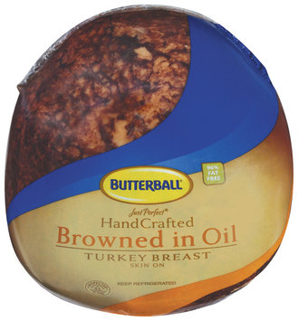Butterball Just Perfect Handcrafted Browned In Oil Skin On Turkey Breast   Poly Bag